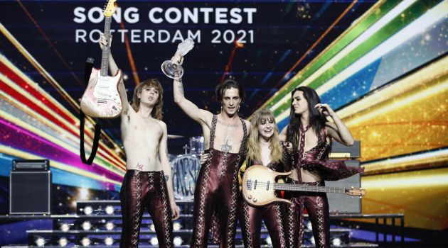 Группа Maneskin из Италии победила на «Евровидении-2021»