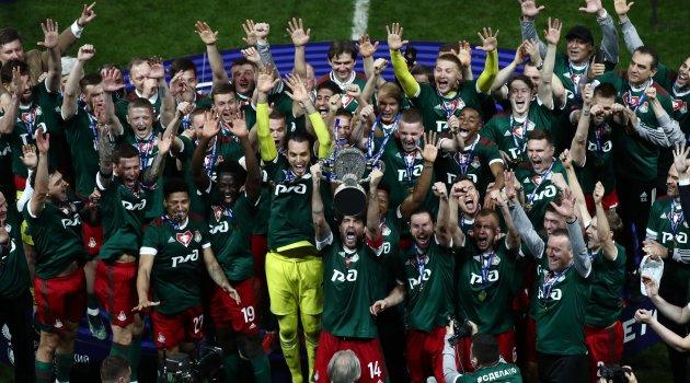 «Локомотив» в девятый раз выиграл Кубок России по футболу
