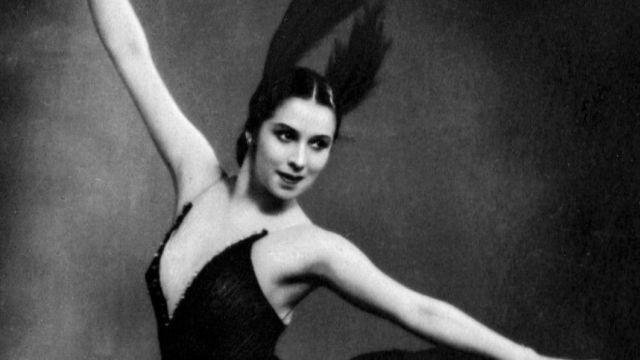 Балерина Ольга Моисеева