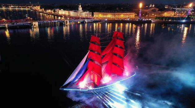 «Алые паруса» в Санкт-Петербурге