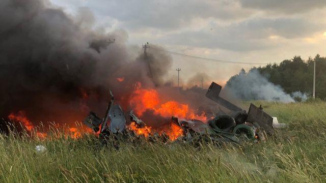Вертолет Ми-8 потерпел крушение под Петербургом