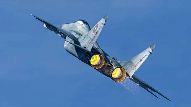 Болгарский МиГ-29 пропал с радаров над Черным морем