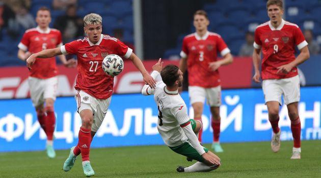 Россия — Болгария — 1:0