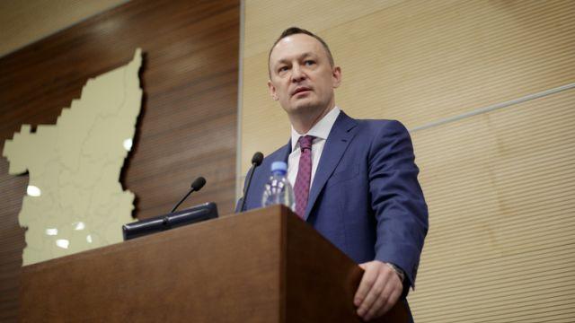 Депутат Госдумы Алексей Бурнашов