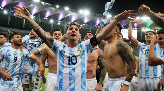 Аргентина выиграла Кубок Америки