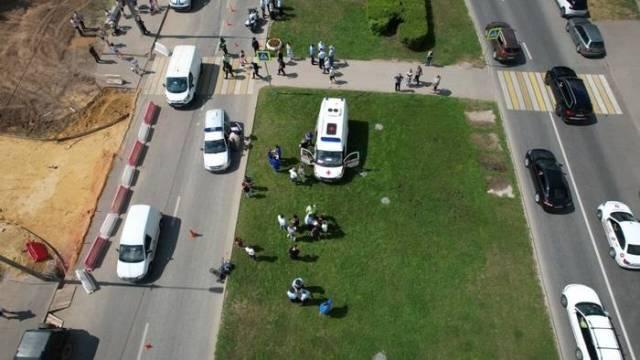 Двое детей умерли после наезда на улице Авиаторов в Москве