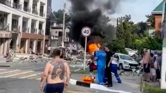 В частной гостинице в Геленджике прогремел взрыв