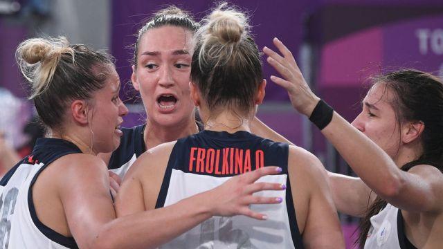 Женская сборная России по баскетболу 3х3 стала второй на ОИ-2020