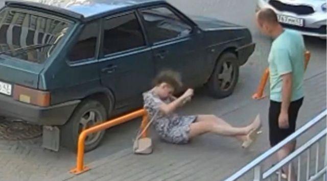 Кировчанин отправил женщину в нокаут