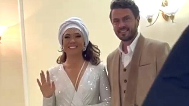 Азиза впервые вышла замуж