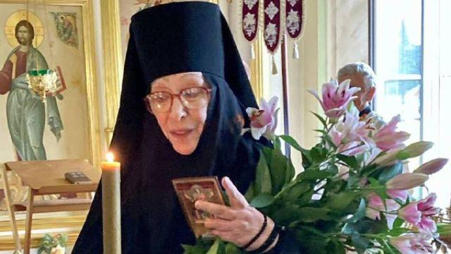 Екатерина Васильева приняла монашеский постриг