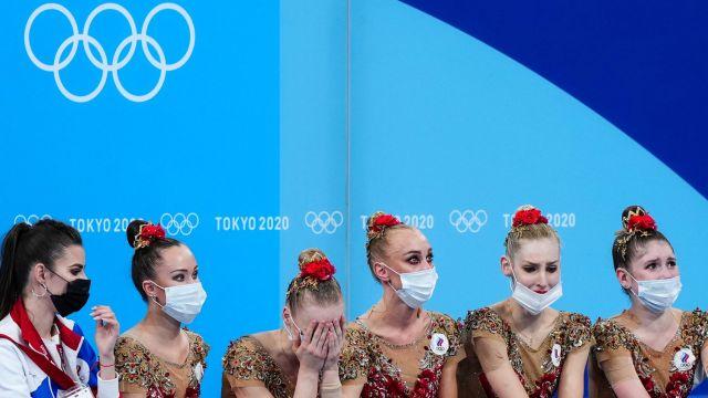 Сборная России по художественной гимнастике завоевала серебро ОИ-2020