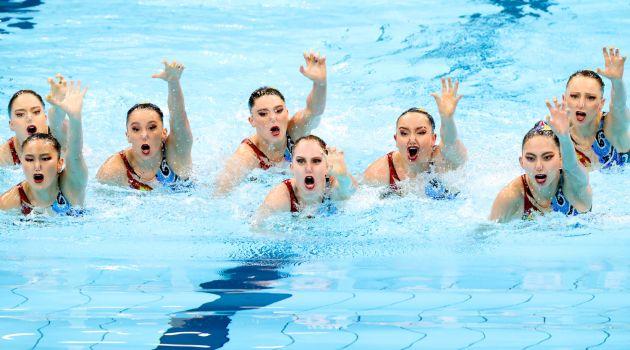 Российские синхронистки выиграли золото ОИ-2020 в соревнованиях групп