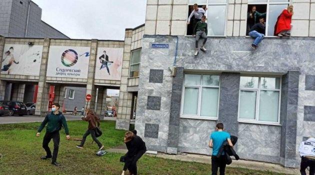 Студент устроил стрельбу в Пермском университете