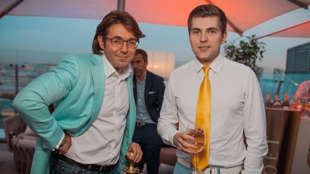 Андрей Малахов и Дмитрий Борисов