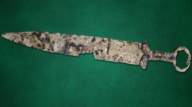 скифский меч сдали на металлолом в Красноярском крае