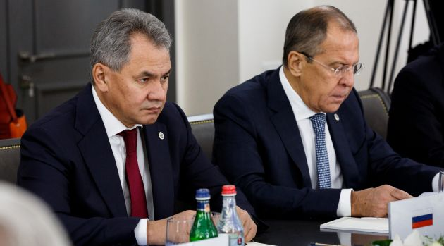Сергей Шойгу и Сергей Лавров