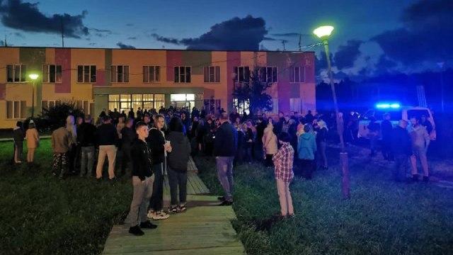 200 жителей села Бужаниново вышли на улицы