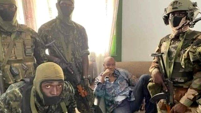 В Гвинеепроизошлапопытка государственного переворота