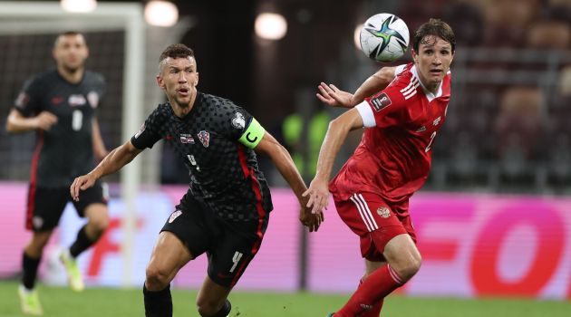 Россия сыграла вничью с Хорватией в отборочном матче ЧМ-2022