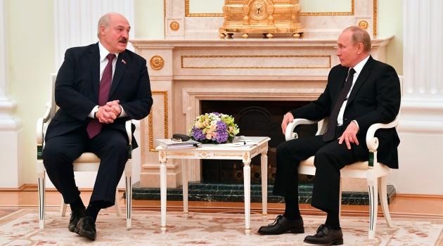 Путин и Лукашенко провели переговоры в Кремле (видео)