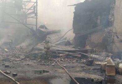 Взрыв на пороховом заводе «Эластик»