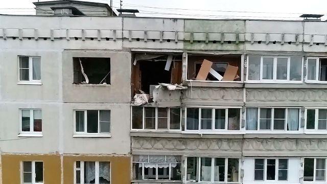 Взрыв газа разрушил квартиру в Нижнем Новгороде