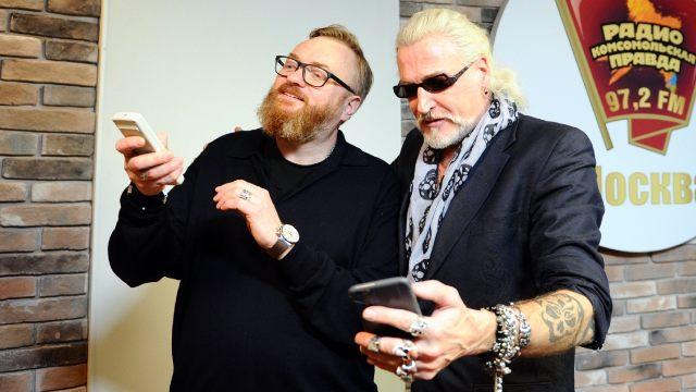 Виталий Милонов и Никита Джигурда