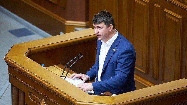 Депутат Верховной Рады Антон Поляков