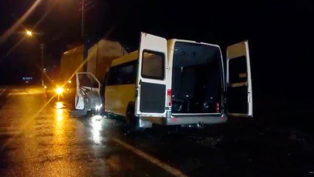ДТП с автобусом и грузовиком под Владимиром
