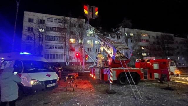 Взрывразрушилнесколько квартир жилого дома вНабережных Челнах