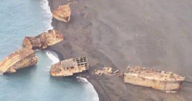 Японские «корабли-призраки» всплыли после землетрясения